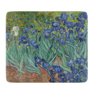 Irises by Van Gogh Cutting Board