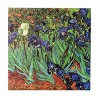 Irises by Van Gogh Fine Art Ceramic Photo Tile