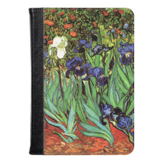 Irises By Van Gogh Fine Art Kindle Case at Zazzle
