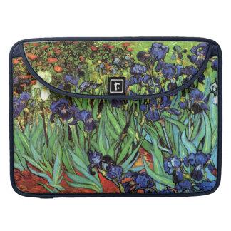 Irises by Van Gogh Fine Art MacBook Pro Sleeve