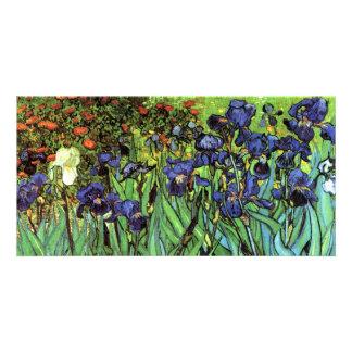Irises by Van Gogh Fine Art Photo Card