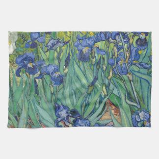 Irises by Van Gogh Hand Towel