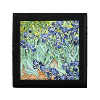 Irises by Van Gogh Keepsake Box
