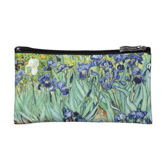 Irises by Van Gogh Makeup Bag