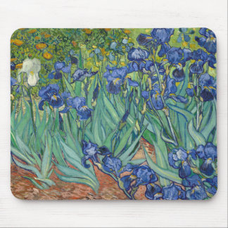 Irises by Van Gogh Mouse Pad