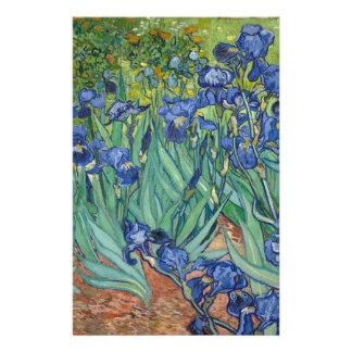 Irises by Van Gogh Stationery