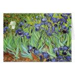 Irises by Van Gogh Thank You Greeting Card