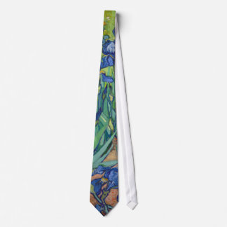 Irises by Vincent Van Gogh 1889 Tie
