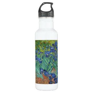 Irises by Vincent Van Gogh 1889 Water Bottle