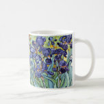 """Irises by Vincent van Gogh 1898 Coffee Mug<br><div class=""""desc"""">To the best of my knowledge these images are in public domain and believed to be free to use without restriction in the US.   Please contact me if you discover that any of these images are not in Public Domain.</div>"""