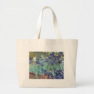 Irises by Vincent van Gogh 1898 Jumbo Tote Bag