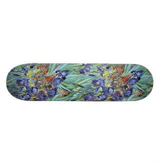 Irises by Vincent van Gogh 1898 Skate Boards