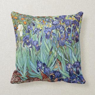 Irises by Vincent van Gogh 1898 Throw Pillow