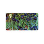 Irises by Vincent van Gogh Address Label
