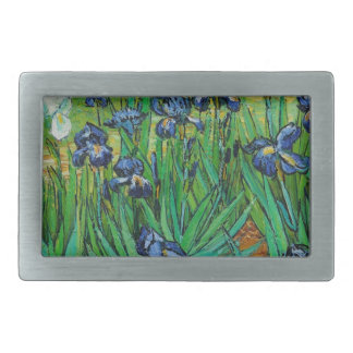 Irises by Vincent Van Gogh Belt Buckle