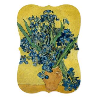Irises by Vincent Van Gogh Card