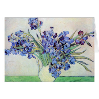 Irises by Vincent van Gogh Card