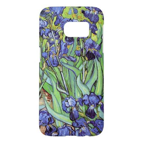 Irises by Vincent van Gogh Phone Case