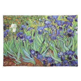 Irises by Vincent van Gogh Cloth Place Mat