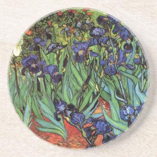 Irises by Vincent van Gogh Coasters