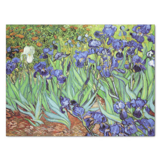 "Irises by Vincent van Gogh 15"" X 20"" Tissue Paper"