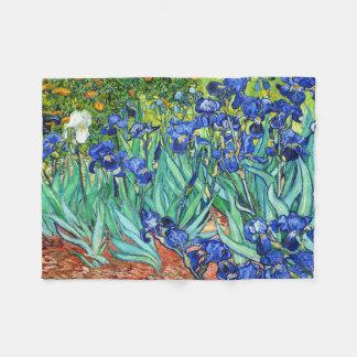 Irises By Vincent Van Gogh Fleece Blanket