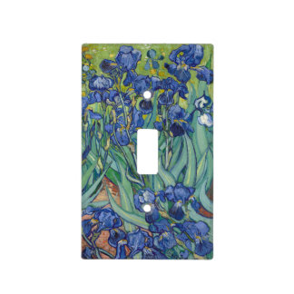 Irises by Vincent Van Gogh Light Switch Plate