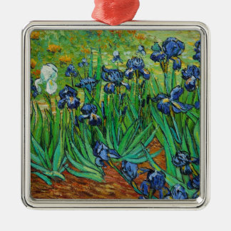 Irises by Vincent Van Gogh Metal Ornament