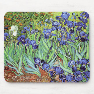 Irises by Vincent van Gogh Mouse Pad