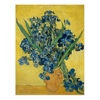Irises by Vincent Van Gogh Postcard