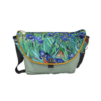 Irises By Vincent Van Gogh Small Messenger Bag