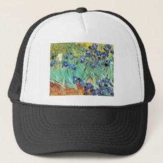 Irises by Vincent Van Gogh Trucker Hat