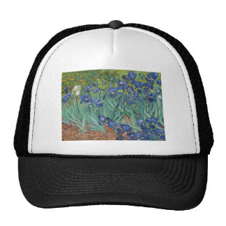Irises by Vincent Van Gogh Trucker Hat