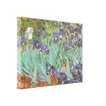 Irises by Vincent van Gogh, Vintage Flowers Art Canvas Print