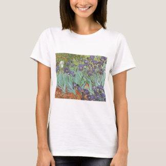 Irises by Vincent van Gogh, Vintage Flowers Art T-Shirt