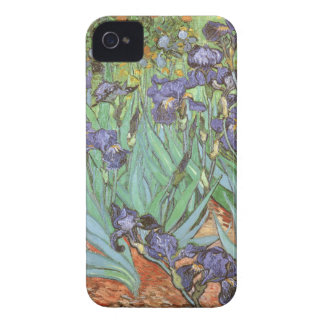 Irises by Vincent van Gogh, Vintage Impressionism iPhone 4 Case-Mate Case