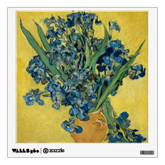 Irises by Vincent Van Gogh Wall Decal