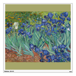 Irises by Vincent Van Gogh Wall Sticker