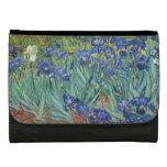 Irises by Vincent Van Gogh Wallets