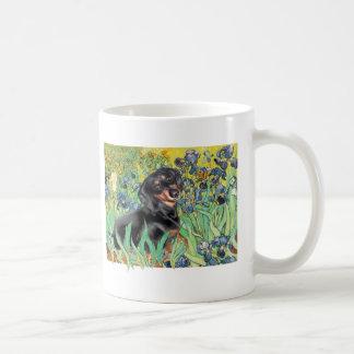 Irises - Dachsund (BT4) Classic White Coffee Mug