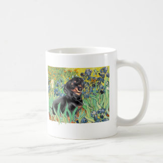 Irises - Dachsund (BT4) Coffee Mug