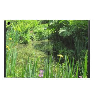 Irises & Ferns by Pond, Richmond Park iPad Cover