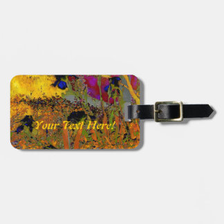 Irises for Vincent Travel Bag Tag
