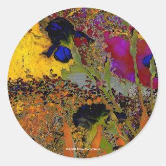 Irises for Vincent Sticker