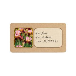 Irises - GY Morrison Custom Address Labels