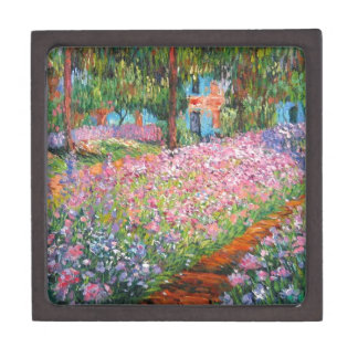 Irises in Artist's Garden Gift Box