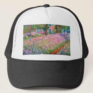 Irises in Artist's Garden Trucker Hat