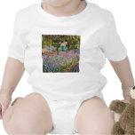 Irises In Monet's Garden Baby Bodysuit
