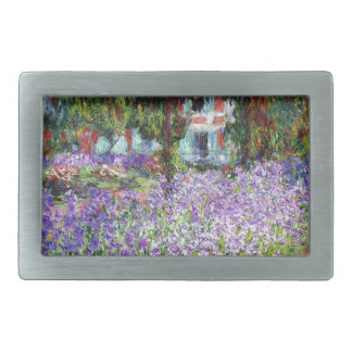 Irises in Monet's Garden Belt Buckle