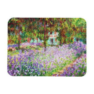 Irises in Monet's Garden Claude Monet Magnet